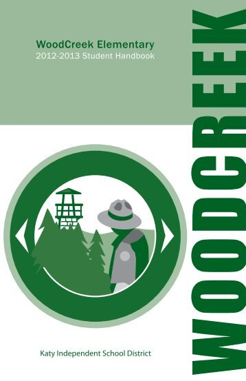 WoodCreek Elementary Student Handbook 2012-13 - Campuses ...