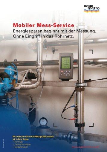 Mobiler Mess-Service - Aquametro AG
