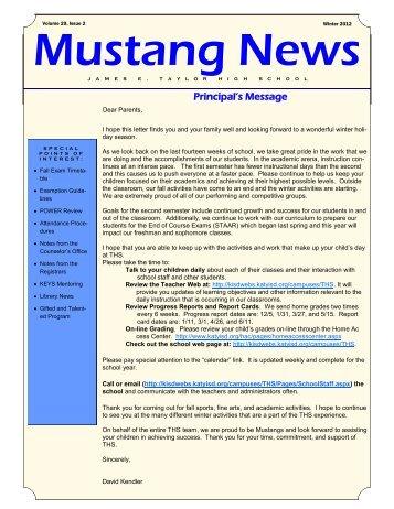 newsletter - Campuses - Katy ISD