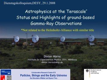 Gamma-rays - Physics Seminar - Desy