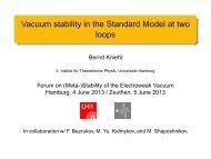 Slides Kniehl - Physics Seminar