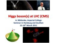 M - Physics Seminar