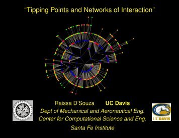 ?Tipping Points and Networks of Interaction?