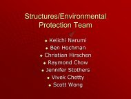 Structures / Thermal Group