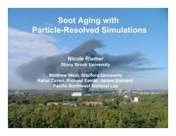 Validation of Soot Aging Models with Particle-Resolved Simulations