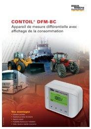 CONTOIL® DFM-BC - Aquametro AG