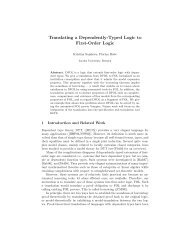 Translating a Dependently-Typed Logic to First-Order Logic