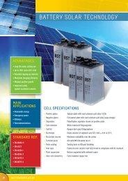 Download battery solar technology pdf - Solar batteries
