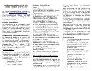 Internationale Ausbildung Schweiz - a-p-p.ch