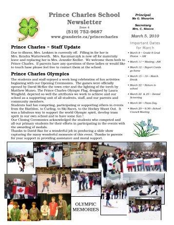 March Newsletter 2010 - Grand Erie District School Board