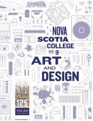 Viewbook - Nova Scotia College of Art and Design