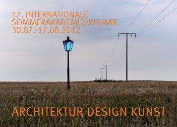 ARCHITEKTUR DESIGN KUNST