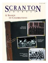 A SE A S O N O F CE L E B R AT I O N S - The University of Scranton