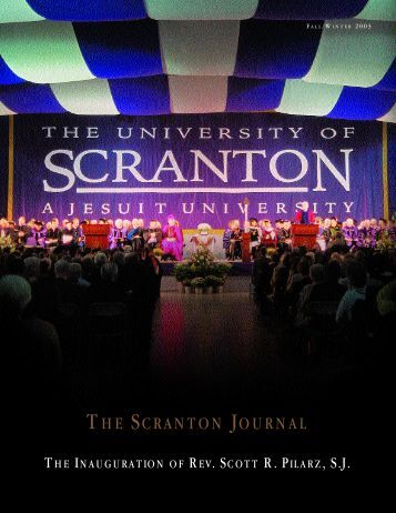TH E SC R A N TO N JO U R N A L - The University of Scranton