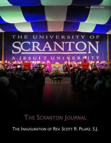 TH E SC R A N TO N JO U R N A L - The University of Scranton