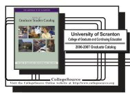 2006-2007 - The University of Scranton