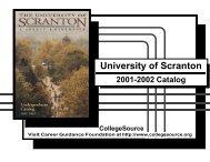2001-2002 - The University of Scranton