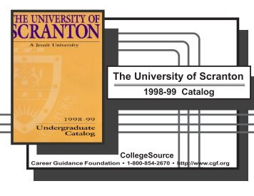 1998-1999 - The University of Scranton
