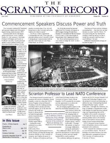 Commencement Speakers Discuss Power and Truth