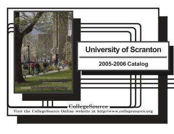 2005-2006 - The University of Scranton