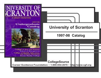 1997-1998 - The University of Scranton