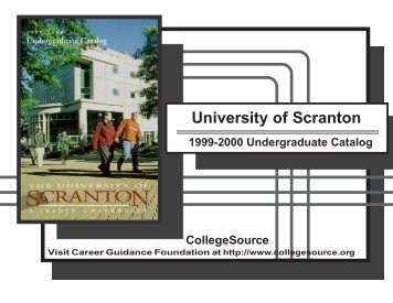 1999-2000 - The University of Scranton