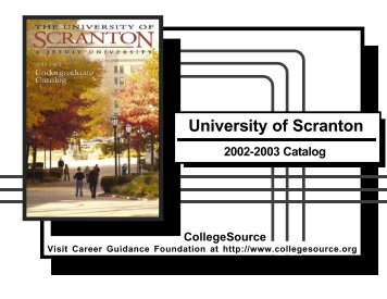2002-2003 - The University of Scranton