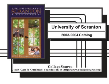 2003-2004 - The University of Scranton