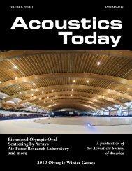 Richmond Olympic Oval - Marshall Long Acoustics