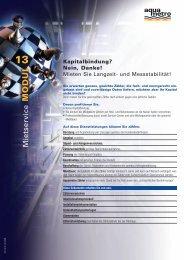 13 MODUL - Aquametro AG