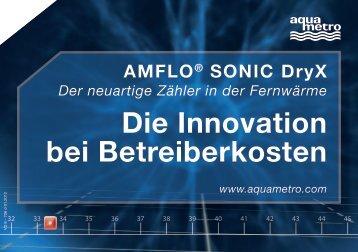 AMFLO® SONIC Dryx Der neuartige Zähler in der ... - Aquametro AG