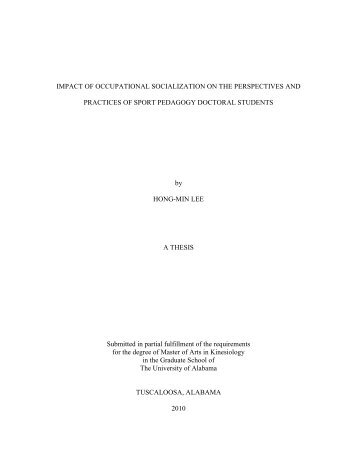 Literature Review - acumen - The University of Alabama