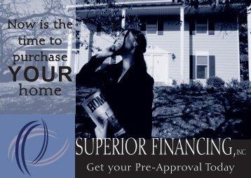 Superior Financing Female Renters Mailer