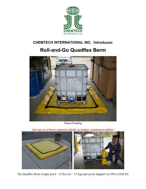 Quadflex Berm Brochure ( PDF) - Chemtech International Inc