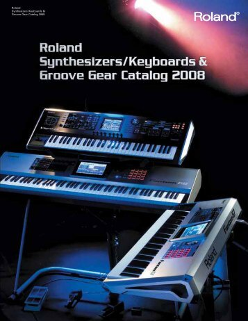 Roland Synthesizers/Keyboards & Groove Gear ... - Musicworld.bg