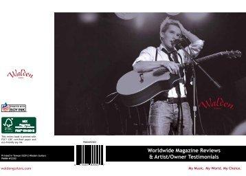 2012 Walden Guitars Review Book