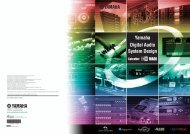 Yamaha's Digital Audio Systems Design Guide