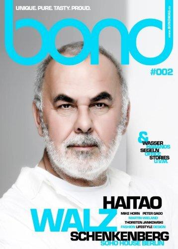 bond men's magazine - Ausgabe #002 [2010]