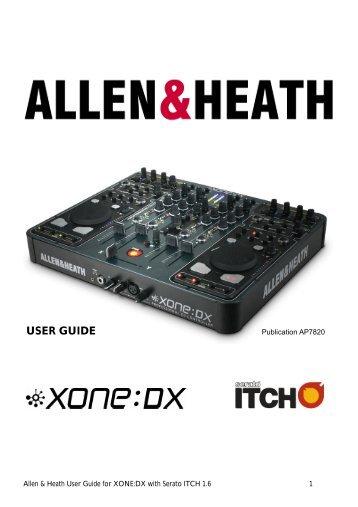 Allen And Heath saber Manual