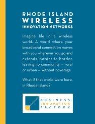 Imagine life in a wireless world. A world where your broadband ...