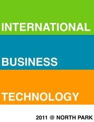 Business Studies - North Park Secondary School
