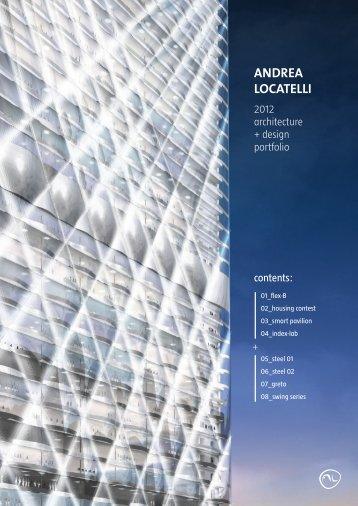 2012 | architecture + design portfolio
