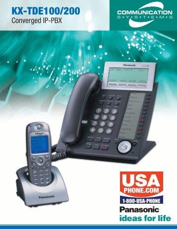 KX-TDE100/200 - Laser.net.in