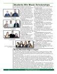 Fall 2009 Newsletter - George Mason University School of Music - Page 2