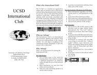 I-Club brochure - Programs Abroad Office