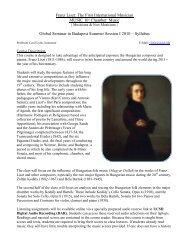 Liszt Syllabus