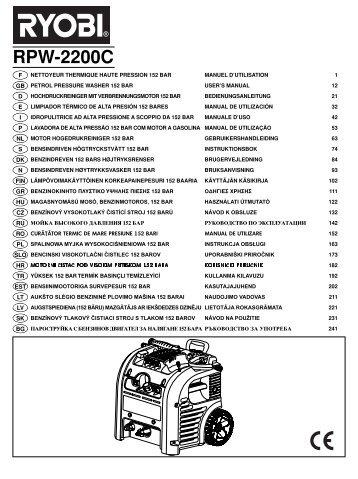 Print RPW-2200C_B.qxd - Ryobi