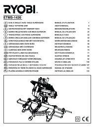 ETMS-1426 manual.qxd - Ryobi