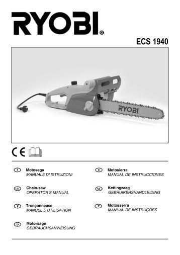 Homelite Hcs 4545 manual