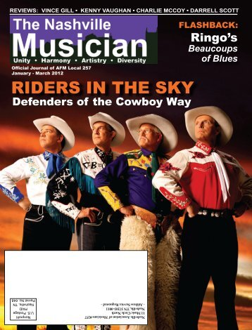RIDERS IN THE SKY - Nashville Musicians Association